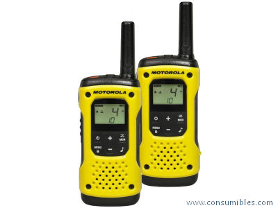 WALKIE-TALKIES T92 H2O PACK YELLOW 10KM/8 CANALES/SUMERGIBLE A9P00811YW CMAG