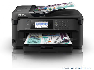 IMPRESORA MULTIFUNCION TINTA WORKFORCE WF-7710DWF C11CG36413