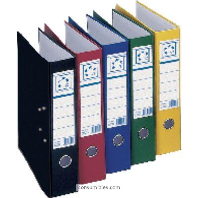 Folio ENVASE DE 12 UNIDADES 5 ESTRELLAS ARCHIVADOR PALANCA FOLIO LOMO 45MM AMARILLO 23257