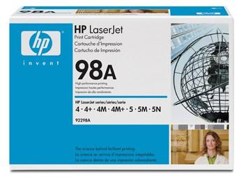 Comprar cartucho de toner 92298A de HP online.