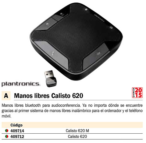 ALTAVOZ CALISTO 620 M INALÁMBRICO BLUETOOTH
