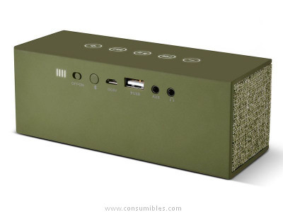 FRNR ALTAVOZ ROCKBOX LADRILLO FABRIC EDITION BLUETOOTH ARMY 1RB3000AR