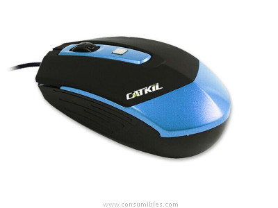 CATKIL RATON OPTICO USB CON CABLE DALLAS AZUL CTK016