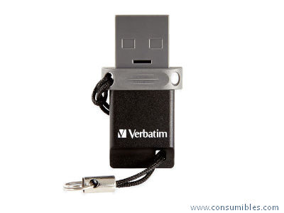 MEMORIA DOBLE USB 2.0/OTG 32GB NEGRO 49843