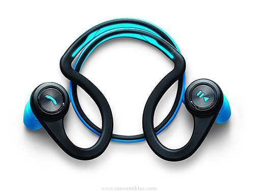 PLANTRONIC AURICULARES PARA MOVIL BACKBEAT FIT BIAURAL BLUETOOTH DIADEMA AZUL 200450-05