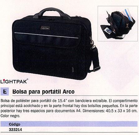 TOMBOW BOLSA PARA PORTATIL ARCO POLIESTER 17 PULGADAS 40.5X33X16CM COLOR NEGRO 46010
