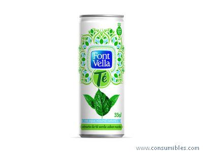 bebidas TE VERDE 33 CL PACK 24 121777