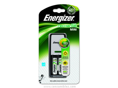 ENERGIZER CARGADOR MINI AUDIO CHARGER + 2AAA 850 MAH INCLUIDAS E300321300