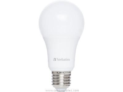 Iluminacion VERBATIM LED CLASSIC A E27 10.5W EQUIVALE A 75W / 2700K 1060LM 52634