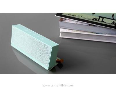 FRESH N REBEL ALTAVOZ ROCKBOX FOLD PEPPERMINT BLUETOOTH VERDE PASTEL 1RB4000PT