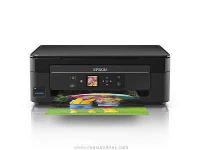 IMPRESORA MULTIFUNCION TINTA EXPRESSION HOME X-342 COLOR /15 PPM/WIFI/NEGRO C11CF31403