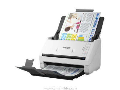 Din A4 EPSON ESCANER WORKFORCE DS 530 A4-1.200 X 1.200 PPP-BLANCO B11B226401