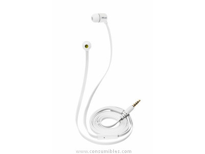 TRUST AURICULAR DUGA CON CABLE INTRAURAL BLANCO 19882