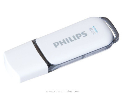 PHILIPS MEMORIA USB 2.0 32GB SNOW EDITION GRIS FM032FD70B