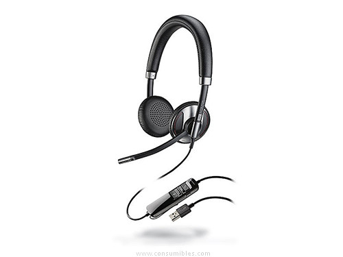 AURICULARES BLACKWIRE C725 M BIAURAL SUPRAURAL CON NOISE CANCELLING