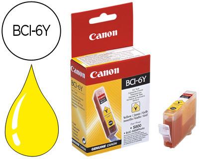 Cartucho de Tinta Amarillo Canon BCI-6Y