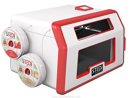 IMPRESORA 3D SMART PRO 280 PLA/WOOD/ABS/PVA/280 X 150 MM /80 MM /S/BLANCO-ROJO ST-1001-00