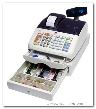 Cajas Registradoras OLV CJRG ECR7700 PLUS PERMITE EMITIR FACTURA SIMPLIFICADA. IMPRESIÓN ALFANUMÉRICA B4866000
