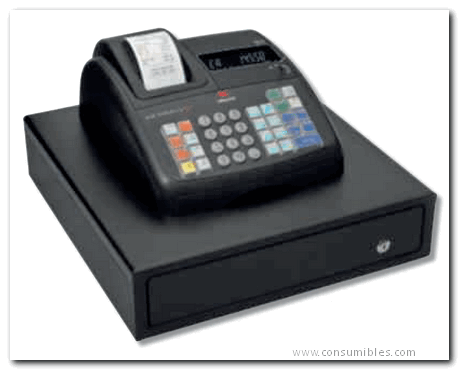 Cajas Registradoras OLV CJRG ECR7700 LD ECO PLUS PERMITE EMITIR FACTURA SIMPLIFICADA. IMPRESIÓN ALFANUMÉRICA B4867000