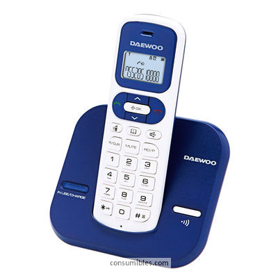 DAEWOO TELEFONO INALAMBRICO DECT-DTD 1600 COLOR AZUL DW0070