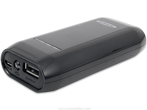 EDNET POWERBANK PARA SMARTPHONE O TABLET 4400 MAH, SALIDA 5 V-1 31886
