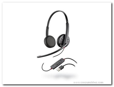 PLANTRONICS AURICULAR CABLE (USB-JACK) BLACKWIRE C325 M