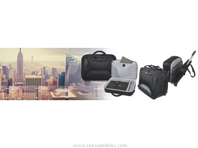PORT DESIGNS TROLLEY MANHATTAN PRO PARA VIAJES 48 HORAS 44X42X24,5 CM NEGRO 170228