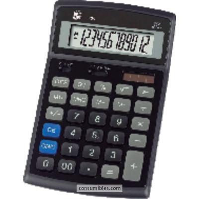 Calculadoras de sobremesa 5 ESTRELLAS CALCULADORA SOBREMESA 424 12 DIGITOS SOLAR /PILAS KC-D21N