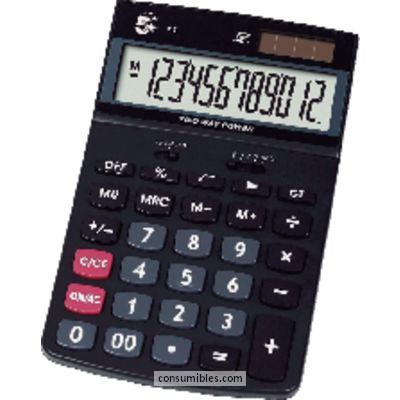Calculadoras de sobremesa 5 ESTRELLAS CALCULADORA SOBREMESA 418 12 DIGITOS SOLAR /PILAS KC-DX130