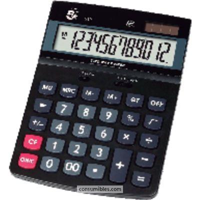 Calculadoras de sobremesa 5 ESTRELLAS CALCULADORA SOBREMESA 312 12 DIGITOS PANTALLA GRANDE LCD KC-DX150