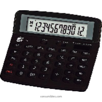 Calculadoras de sobremesa 5 ESTRELLAS CALCULADORA SOBREMESA 618 12 DIGITOS KC-503TC SM