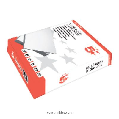 ENVASE DE 5 UNIDADES 5 STAR PAPEL MULTIFUNCION 500H 80 G. A4