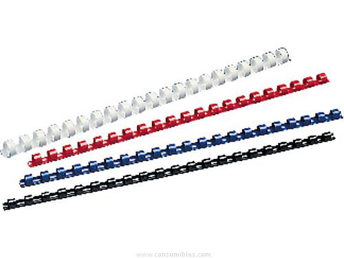 Canutillo de Plastico 5 ESTRELLAS CANUTILLO 50 UD NEGRO LOMO 38MM 340 H A4 982488