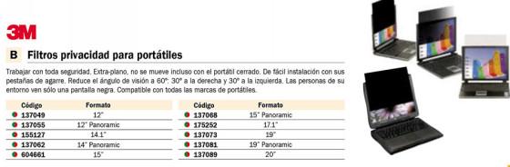 FELLOWES FILTRO PRIVACIDAD PARA PORTATIL 13,3PULGADAS NEGRO 4806801