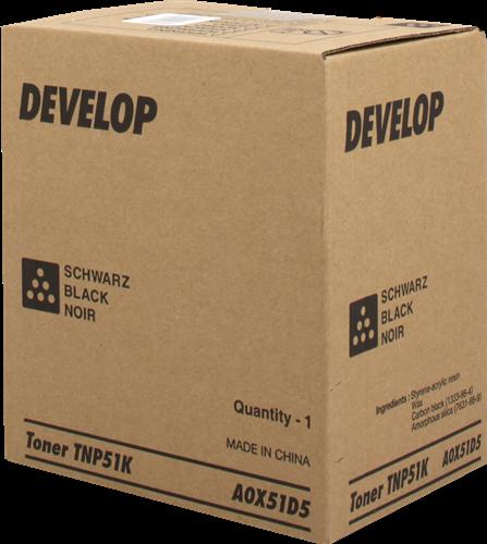 Develop Tóner negro A0X51D5 TNP-51K 5000 páginas