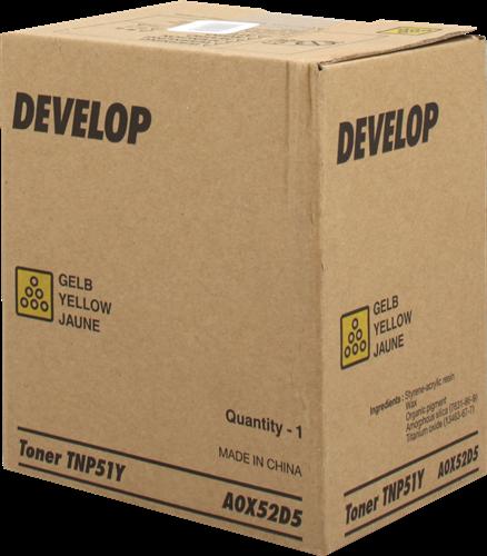 Develop Tóner amarillo A0X52D5 TNP-51Y 5000 páginas