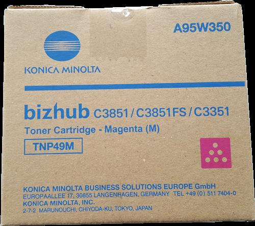 KONICA-MINOLTA TONER MAGENTA BIZHUB C3351 C3851FS - TNP49M