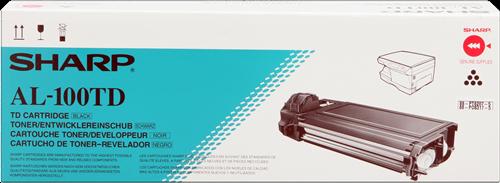 Comprar cartucho de toner AL100TD de Sharp online.