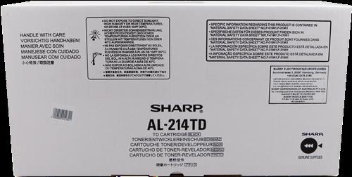 Comprar cartucho de toner AL-214TD de Sharp online.