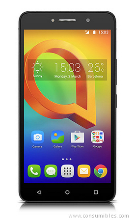 Smartphones ALCATEL A2 XL SIM DOBLE 8GB NEGRO, AZUL