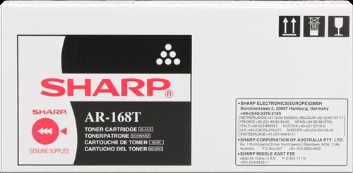 Comprar cartucho de toner AR-168T de Sharp online.