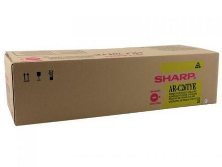 Comprar cartucho de toner ARC26TYE de Sharp online.