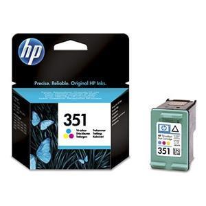 Cartucho de Tinta Tricolor HP Nº 351
