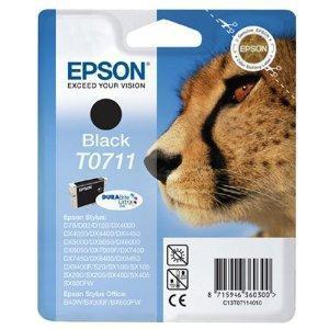 CARTUCHO DE TINTA NEGRO 7 ML EPSON T0711