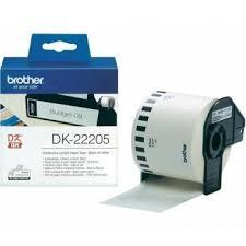 CINTA DE PAPEL BLANCA, 62 MM, 30,48M BROTHER DK-22205