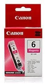 CARTUCHO DE TINTA MAGENTA 13 ML CANON BCI-6M