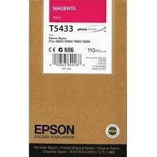 CARTUCHO DE TINTA MAGENTA 110 ML EPSON T5433