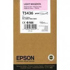 Cartucho de Tinta Magenta Claro 110 ml Epson T5436