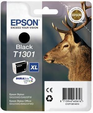 Cartucho de Tinta negro 2540 ml Epson T1301