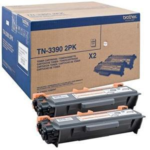MULTIPACK NEGRO TN-3390 PACK 2 BROTHER TN-3390TWIN